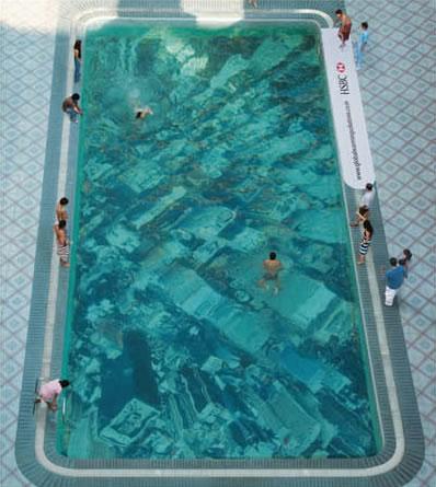 global warming swimming pool1 Pool City